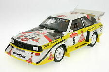 1:18 AUDI SPORT QUATTRO s1-TEAM HB-Röhrl-Rally San Remo 1985-otto 130