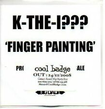 (401J) K-The-I???, Finger Painting - DJ CD