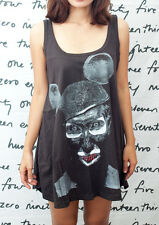 Marilyn Manson Evil Mickey T10 Indie Devil WOMEN T-SHIRT DRESS Tank TOP Size M L