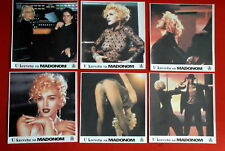 IN BED WITH MADONNA 1990 6x SEXY RARE EXYU LOBBY CARDS
