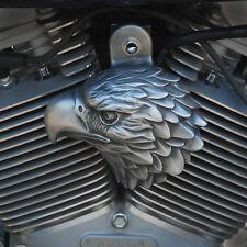 Eagle Horn Cover. Aged aluminum.  Harely Davidson EAG-HB1