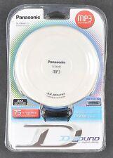 Panasonic MP3 Portable CD Player SL-SX480P-W Brand New w Headphones
