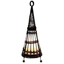 Bali Lampe 60 cm  , Narayana Lampe, Tischlampe, Asia Lampe, Stimmungs Lampe