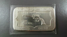 1 ozt .999 Fine Silver Peacemaker Bar- Limited Edition