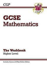 CGP GCSE MATHS HIGHER LEVEL THE WORKBOOK KS4 QUESTIONS ANSWERS EDEXCEL AQA OCR