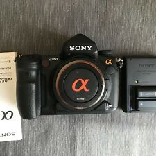 Sony alpha A850 Full frame 24.6MP DSLR camera - 1408 Shutter Actuations
