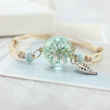 Flower Bracelet Ladies Blue