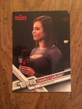Charly Caruso Topps WWE 2017  Card