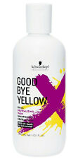 Schwarzkopf Goodbye Yellow Shampoo 10.1 oz / 300 ml Free of SLS/SLES sulfates