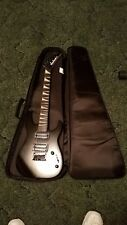 jackson black dinky minion with brand new gig bag-electric guitar like new