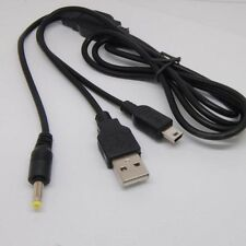10pcs Charger USB Cable For SONY PSP1000 psp2000 psp3000 playstation3 Controller