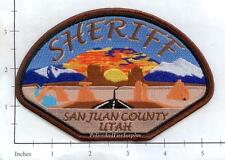 Utah - San Juan County UT Police Dept Patch