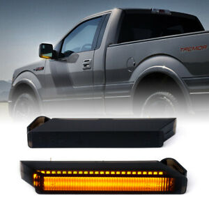 Xprite LED Side Mirror Turn Signal Lights for 04-14 Ford F-150 Raptor Lincoln