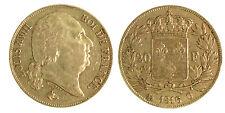20 Francs Or LOUIS XVIII - 1816 Q PERPIGNAN - RARE