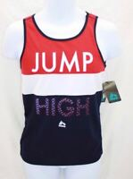 """RBX Performance  Boy's Tank Top """"Jump"""" Multi Colored Quick Drying Size XL  18 20"""