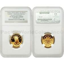 USA 2004 Liberty Freedom for all Frank Gasparro 10 gram Gold NGC PF70 ULTRA CAME