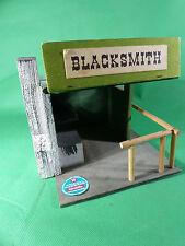 """Hausser Elastolin Western Haus """" Blacksmith""""  aus Holz"""