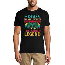 ULTRABASIC Homme T-shirt Dad The Gamer Legend - Papa le Joueur de Légende