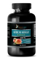 African Mango 1200mg Extract w/Acai Fruit, Resveratrol  (1 Bottle)