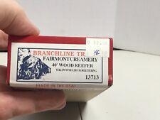 New ListingBranchline Trains Ho Scale Fairmont Creamery 40' Billboard Wood Reefer 13713 Nio