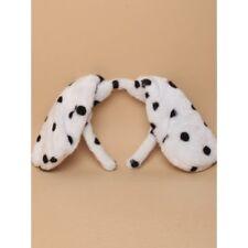 DALMATION / SPOTTY DOG FLOPPY  Ears Headband Fancy Dress Costume Accessory