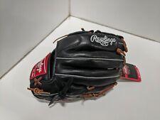 "New listing Rawlings Gamer Series 12"" LHT Baseball Glove Black/Brown"