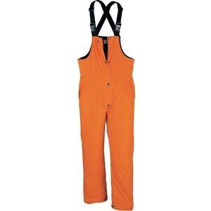 Cabela's Men's Insulated 125GM Waterproof Windproof Blaze Orange Hunting Bibs