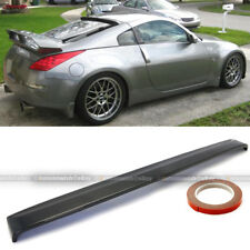 JDM Real Carbon Fiber Rear Roof Wing Spoiler Visor For 03-08 Fairlady Z 350z