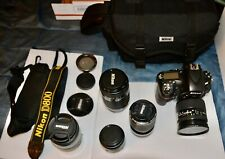 Ultimate Nikon D800 36.3 mp digital camera PROFESSIONAL PACKAGE (EXC. CONDITION)
