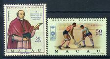 Macao 1969-1972 Mi. 448, 454 Nuovo ** 100% Santa Casa, Giochi Olimpici