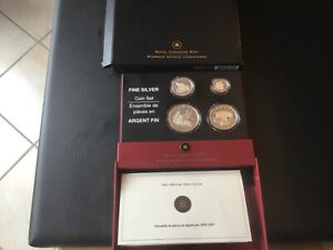 Royal Canadian Münz Set Silber Pj. 2005 mit Zertifkat Limit. 15000 stck.