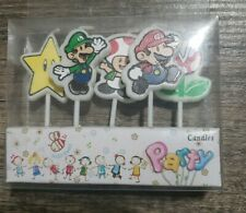 Super Mario Birthday Party 5 piece  birthday candles