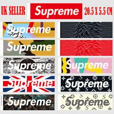 11 PCS Supreme Box Logo Stickers Vinyl Graffiti Stickers Laptop Luggage Car Toys