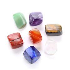 Chakra kit : Natural 7 Crystal Tumbled Healing Stones Set Kit