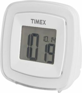 TIMEX COLOR CHANGING TRAVEL DUAL  ALARM CLOCK NEW