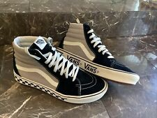 VANS High Top Off The Wall, 721356, Gray, Mens Skateboarding Shoes, Size 13 EUC