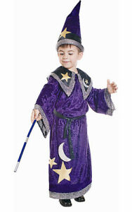 Kids Magic Wizard Costume Dress By Dress up America