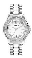 Versus by Versace Women's SH7080013 Tokyo Crystal Round White Dial Watch