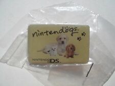 Video Game NINTENDOGS Nintendo DS Rare NEW MINT Promo METAL PIN BADGE Pins Dogs