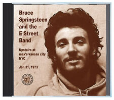 BRUCE SPRINGSTEEN & The E Street Band at Max's Kansas City in 1973, LIVE, on CD