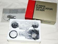 Canon Duplicator 35-52R en Caja Completo & Menta probablemente no utilizado