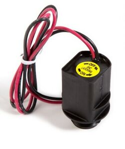 Rain Bird Replacement Irrigation Solenoid Coil 9V (Red and Black Wires)