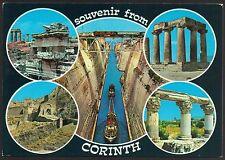 AD3894 Greece - Souvenir from Corinth - Views