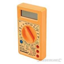 Digitalmultimeter Handgehalten Multimeter maße DC und AC spannung Großes Display
