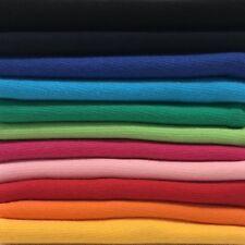 Bündchenstoff Starterset Mix-Paket Regenbogen Paket - 11 Farben (Rainbow)