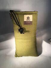 "Vatra 8"" Padded string bag. Green HEMP  Water  hookah pipe Glass vape"