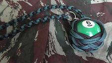 "Boule Billard N°6 ø52 mm Lanyard ""Self Defense/Survie"""