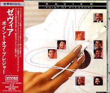 XAVIER - Point Of Pleasure Japan CD w/OBI 1993 Original 1st Pressed VSCD523