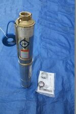 """Brand New Submersible Deep Well water Pump 2 HP 220V Brass outlet 1 1/4"""""""