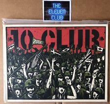 """2012 Pearl Jam 10 Club Poster 9""""x12"""" Print by Mark5 LE OOP Vedder HOF Sealed New"""